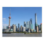 Shanghai from the Bund Postcard