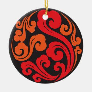 Shanghai Moon Chinese Bistro & Bar 05 Ceramic Ornament
