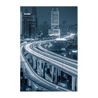 Shanghai Overpass 1 panel wall art
