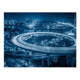 Shanghai Overpass 3 postcard