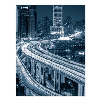 Shanghai Overpass postcard