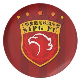 Shanghai SIPG F.C. Plate