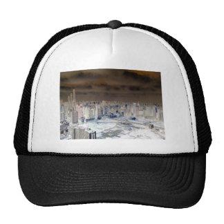 Shanghai Skyline Funk Trucker Hat