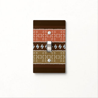 Shango Brown Tribal Switch Cover