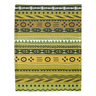 Shango Tribal Duvet Cover