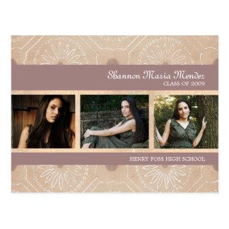 Shannon Graduation Invitation Postcard