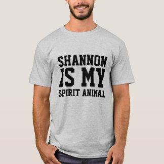 Shannon is my Spirit Animal T-Shirt