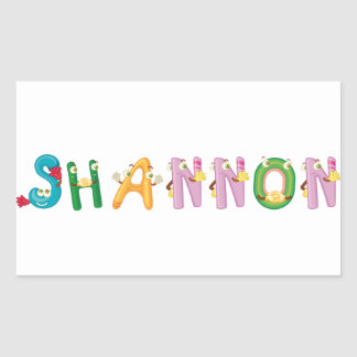 Shannon Sticker