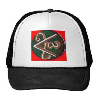 SHANTI Symbol : for Peace Lovers Trucker Hat