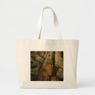 shape and form of rock large tote bag