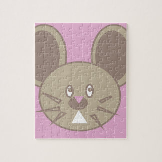 Shape Made Mouse Jigsaw Puzzle