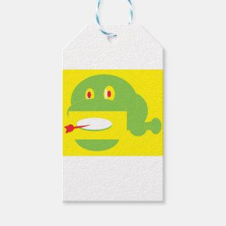 Shape Made Snake Gift Tags