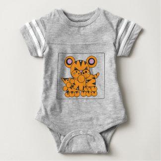 Shape Made Tiger Baby Bodysuit