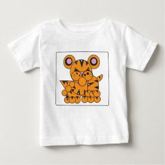 Shape Made Tiger Baby T-Shirt