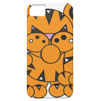 Shape Made Tiger iPhone 5 Case
