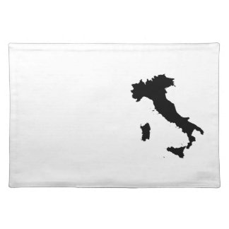 Shape of Italy Placemat