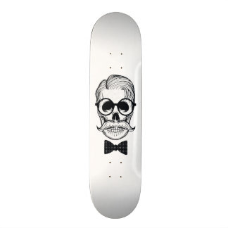 Shape Skull Design Custom Skateboard