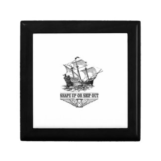 shape up or ship out boat gift box