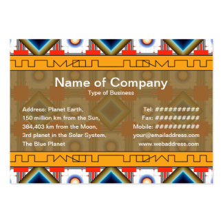 Shapes Inverted Rotated Business Card Templates
