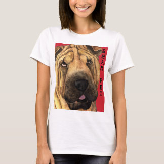 Shar-Pei Color Block T-Shirt