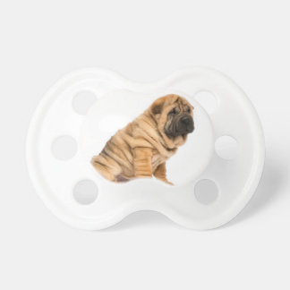 Shar pei Dog Pacifier