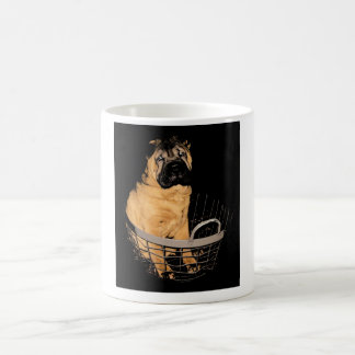 Shar Pei in Basket Mug