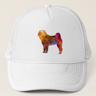 Shar Pei in watercolor Trucker Hat