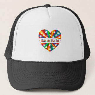 Shar Pei Love Trucker Hat