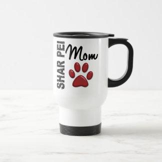 Shar Pei Mom 2 15 Oz Stainless Steel Travel Mug