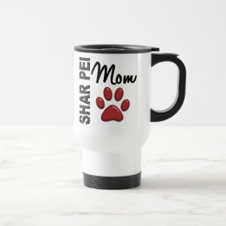 Shar Pei Mom 2 Stainless Steel Travel Mug