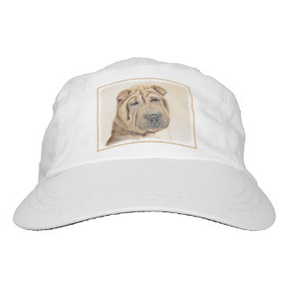 Shar Pei Painting - Cute Original Dog Art Hat