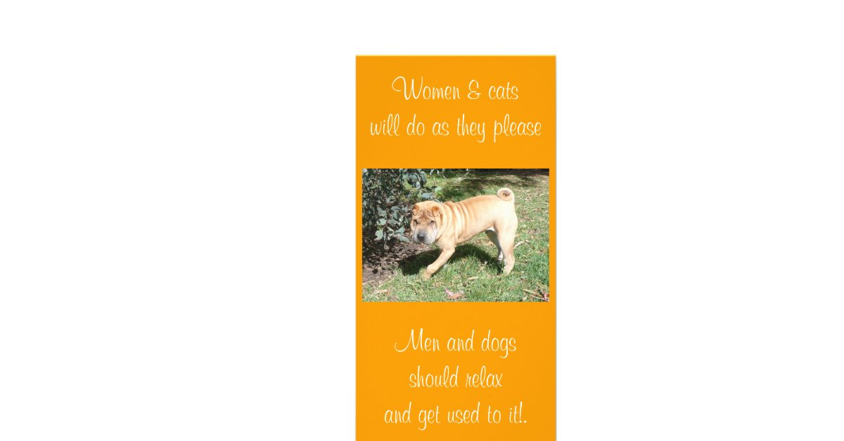 shar pei rescue blank card photo card template zazzle. Black Bedroom Furniture Sets. Home Design Ideas