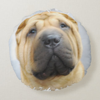 Shar Pei Round Pillow