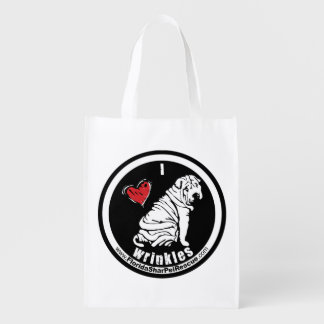 Shar Pei Shopping Bag Grocery Bags