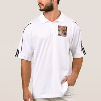 shar pei sleeping polo shirt