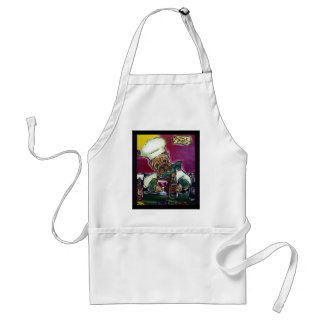Shar-Pei Wine Chef Apron
