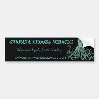 Sharaya Brooks Miracle Bumper Sticker