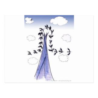 ShardArt Blue Skies by Tony Fernandes Postcard