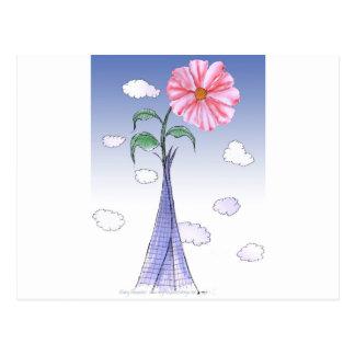 ShardArt Flower Power by Tony Fernandes Postcard