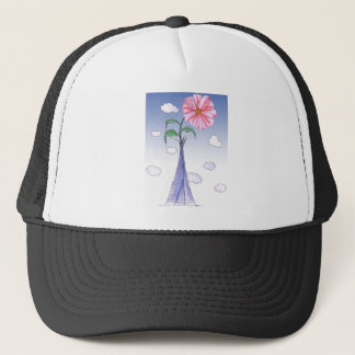 ShardArt Flower Power by Tony Fernandes Trucker Hat