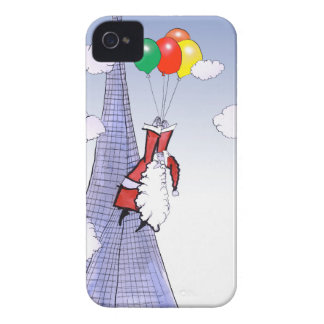 ShardArt Happy Christmas by Tony Fernandes iPhone 4 Case-Mate Cases