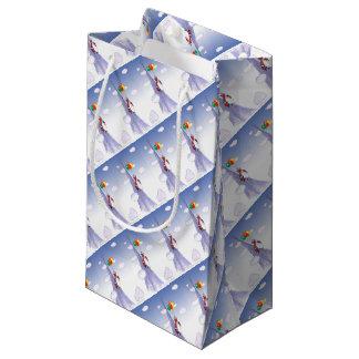 ShardArt Happy Christmas by Tony Fernandes Small Gift Bag