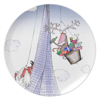 ShardArt Heave-Ho by Tony Fernandes Dinner Plates