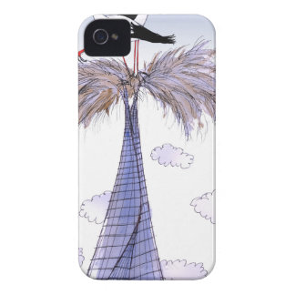 ShardArt Unwelcome Visitors by Tony Fernandes Case-Mate iPhone 4 Case
