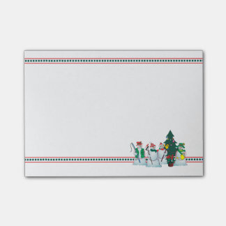 share a smile snowman 15v4 post-it notepad