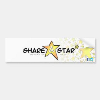 Share a Star Bumper Sticker