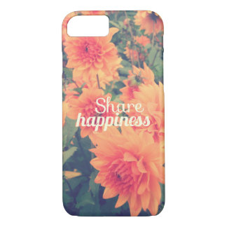 Share happiness iPhone 7 case