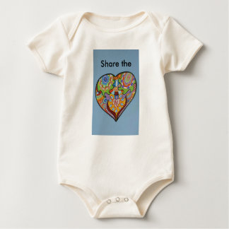 Share Love Baby Bodysuit