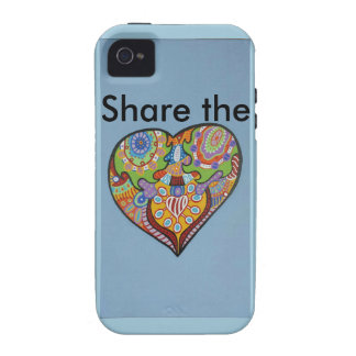 Share Love iPhone 4 Covers