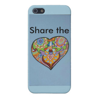 Share Love iPhone 5/5S Covers